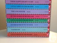 Laura Ingalls Wilder, 9 Book (paperback) collection