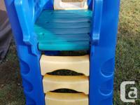 Step 2 Large slide $50 obo Henry Slide & Climber $40