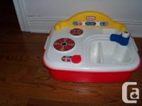 Your toddler will love this self contained Kitchen with