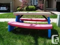 Little Tikes Kids Picnic Table - Very Suitable Disorder