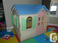 Little Tikes playhouse. It is like a cottage: has