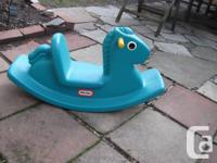 little tikes rocking horse hours of fun for toddlers