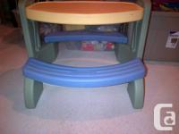 LITTLE TIKES PICNIC TABLE FOR SALE; GOOD CONDITION;