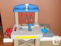 Little Tikes Work Bench In EXCELLENT condition. Moving