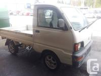 Hello There,.  Right here is mini truck from Japan.