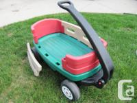 LITTLE TYKES WAGON. The sides, front and back are