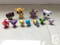 Lot of littlest pet shop $60 One hospital play set One