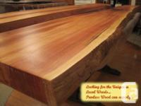 Made from Heavy Cedar , White Pine , or Fir slab cuts