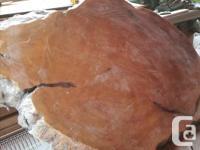 Live Edge Fir Table top: 6 x 5 feet Top needs sanding