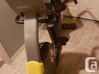 LIVESTRONG LS6.0R Recumbent Exercise Bike - Like New -