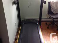 Livestrong treadmill for sale, model LS8.0T.  For sale