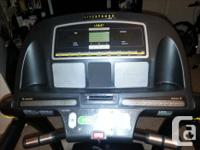 Livestrong 8.0 Treadmill, excellent condition, hardly