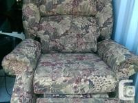 Comfortable living room recliner chair Asking $150..