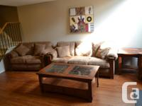Offering full living room set purchased from Ashley