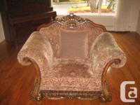 3 PIECE SET, COUCH, LOVE SEAT, CHAIR- ALL PIECES IN NEW