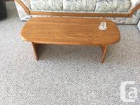 **REDUCED** $1OO takes all three tables - coffee table,