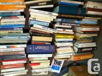 beaucoup de livres en très bon état ayant appartenu à