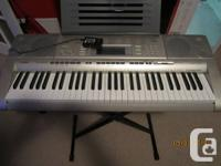 The Casio LK-270 is an affordable instrument with a 61