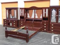 11pc Solid Pine Tower Bedroom Suite BLOW OUT PRICE!