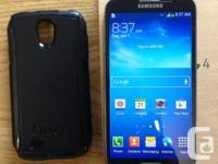 Up for sale a black Samsung Galaxy S4, 16GB. The phone