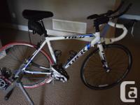 2011 Trek 1.2 road bike in excellent shape. Only 405