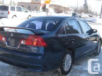 Make Acura Model EL Year 2003 Colour BLUE kms 139000