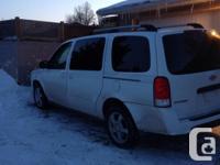 Make Chevrolet Model Uplander Year 2008 Colour White