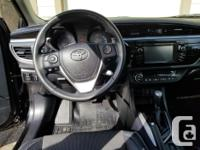 Make Toyota Model Corolla Year 2015 Colour Black kms