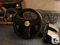 comes with Peddles and games Game 1- Need for speed 5