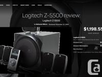 Selling a complete Top of the Line Logitech Z-5500