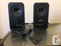 Selling my black Logitech multimedia speakers for $20