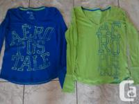 Aeropostale Long Sleeve Shirts in terrific condition.
