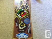 Comet FSM freeride longboard deck. In 8/10 form. Just a