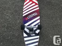 I am selling my 1 year old longboard for 90$  If