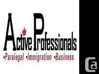Migration Application. ACTIVE PROFESSIONALS ASSURANCES