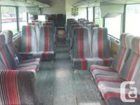 This is a 40' MCI 9 Coach Bus with a 6V-92 Detroit