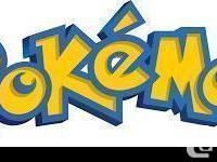 Looking for any Pokemon Toys No Cards please. I am