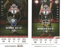I'm depending on trade my TFC seats for the Sept 27,