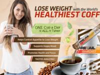 LOSE WEIGHT with the World's HEALTHIEST COFFEE! CONTROL