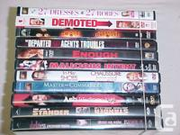 Available for sale is a great deal of 11 DVD Movies and