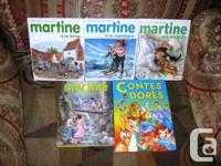 LOT 5 Livres Martine A La Ferme Martine en voyage