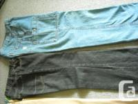 Lot of 3 pairs of boy's size 14 pants including: 1 pr.
