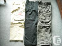 Lot of 3 pairs of boy's size 8 pants that includes: 1