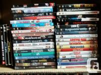 Clearing out our DVD collection. Here is a box of 34