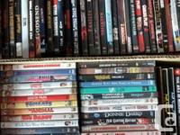 Clearing out our DVD collection. Box of 34 horror