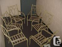 I have six chairs like photo show, good condtion, best