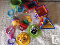 Selling baby's toys.  Includes  *Fisher Price Sweet
