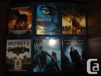 I have the following blu-rays & 3D blu-rays for sale.