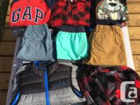 Bag of boy's clothes in excellent used condition, no