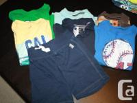 Lot of Boys T-Shirts and Shorts from Carters, Old Navy,